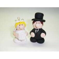 Little bride & groom (pair)
