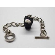 19cm charm bracelet with one charm