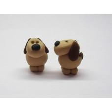 Little dog bag charm