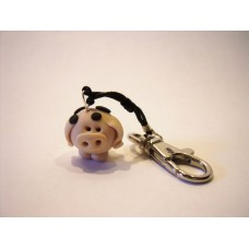Little pig bag charm