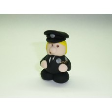 Little policewoman