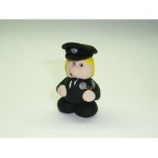 Little policewoman